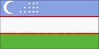 εθνική σημαία Ουζμπεκιστάν,national flag of Uzbekistan.