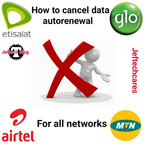 How To Cancel Data Auto Renewal For All Networks.
