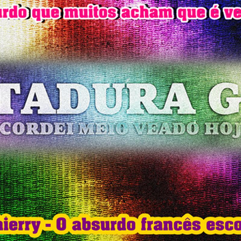 """# DITADURAGAY : Governo """"pálido"""" decreta união heterossexual anormal"""