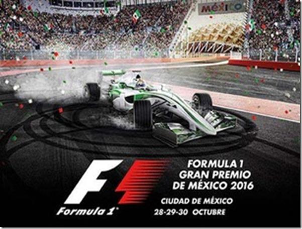 Formula 1 GP Mexico Octubre 2016 venta de boletos primera fila