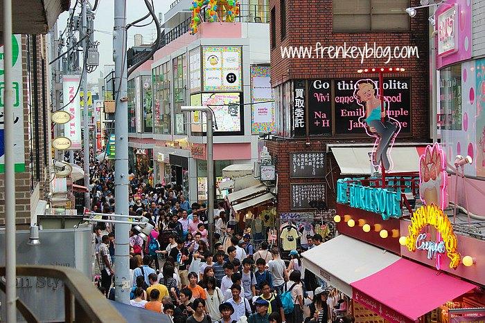 Keramaian Takeshita Street, Padat Merayap!