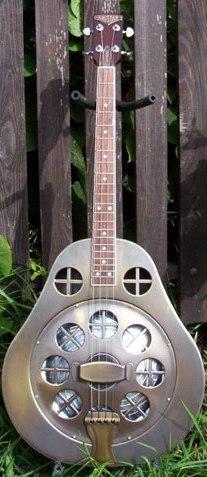 Amistar Dubro Resonator Tenor Guitar Baritone Ukulele