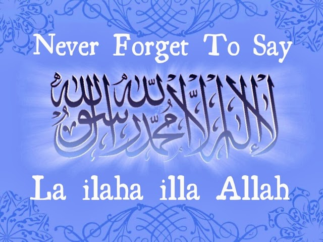 Never Forget to Say...