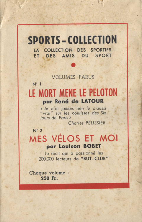 Couverture de polar : Le mort mène le peloton - Pour vous Madame, pour vous Monsieur, des publicités, illustrations et rédactionnels choisis avec amour dans des publications des années 50, 60 et 70. Popcards Factory vous offre des divertissements de qualité. Vous pouvez également nous retrouver sur www.popcards.fr et www.filmfix.fr   - For you Madame, for you Sir, advertising, illustrations and editorials lovingly selected in publications from the fourties, the sixties and the seventies. Popcards Factory offers quality entertainment. You may also find us on www.popcards.fr and www.filmfix.fr