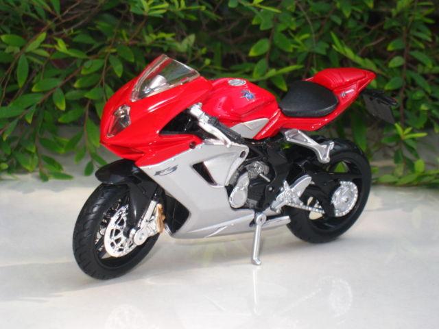 Đồ chơi mô hình xe máy MV Agusta F3 BBurago tỷ lệ 1:18
