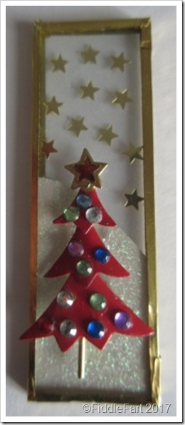 Microscope Slide Christmas Decoration 6