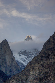 This is not K-2, this an ordinary mountain near Attabad Lake, Hunza