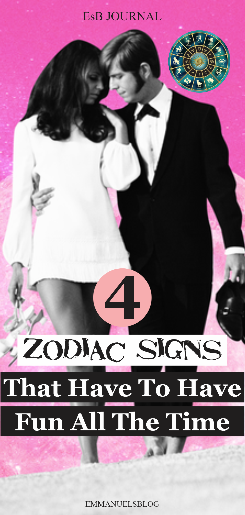 4 Zodiac Signs That Have To Have Fun All The Time