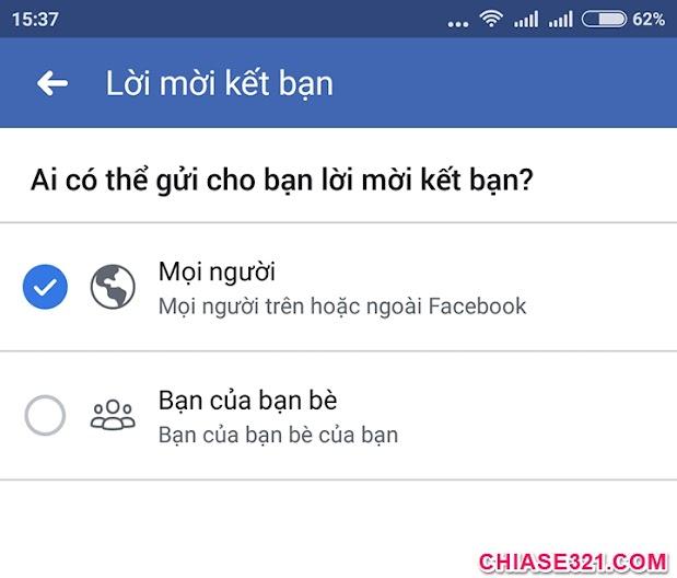 cách mở nút kết bạn trên facebook