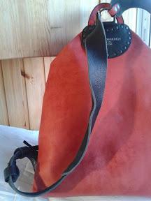 кожаный рюкзак ручной работы № 130 Fun-English