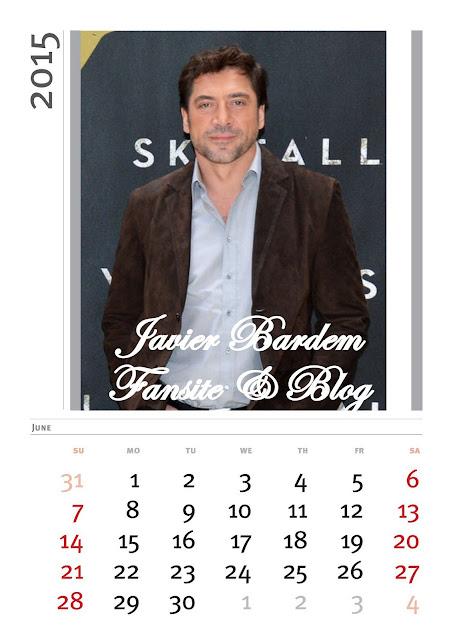 Calendario mes deJunio