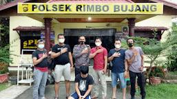Melakukan Penipuan Oknum Oknum Anggota BPD Desa Sungai Rambay Tebo Dibekuk Polisi