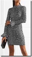 Michael Michael Kors Metallic Jaquard Knit Dress