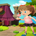 Games4King - Cute Young Girl Rescue