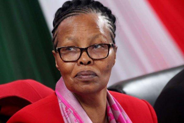 The Kenya National Examinations Council CEO Mercy Karogo.