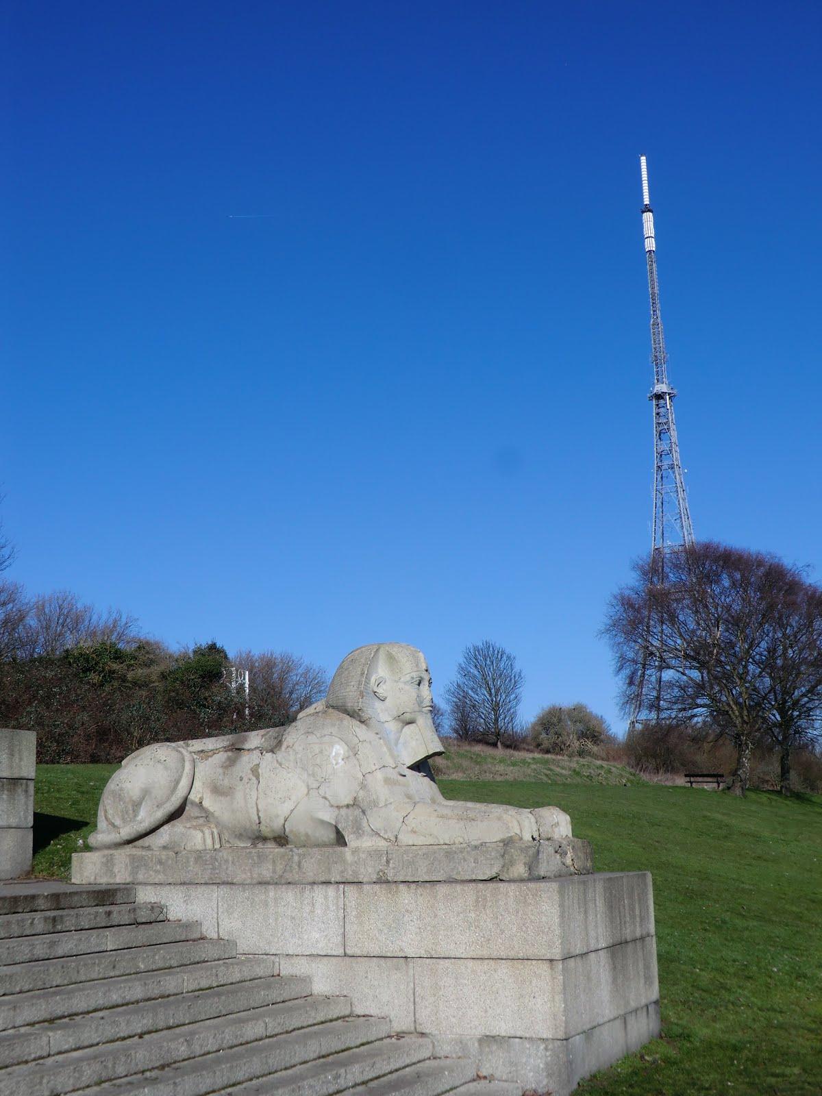 CIMG1544 Sphinx, Crystal Palace Park