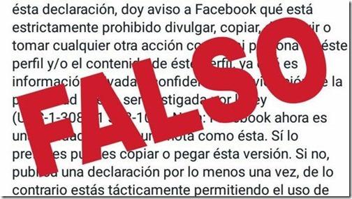 hoax privacidad facebook