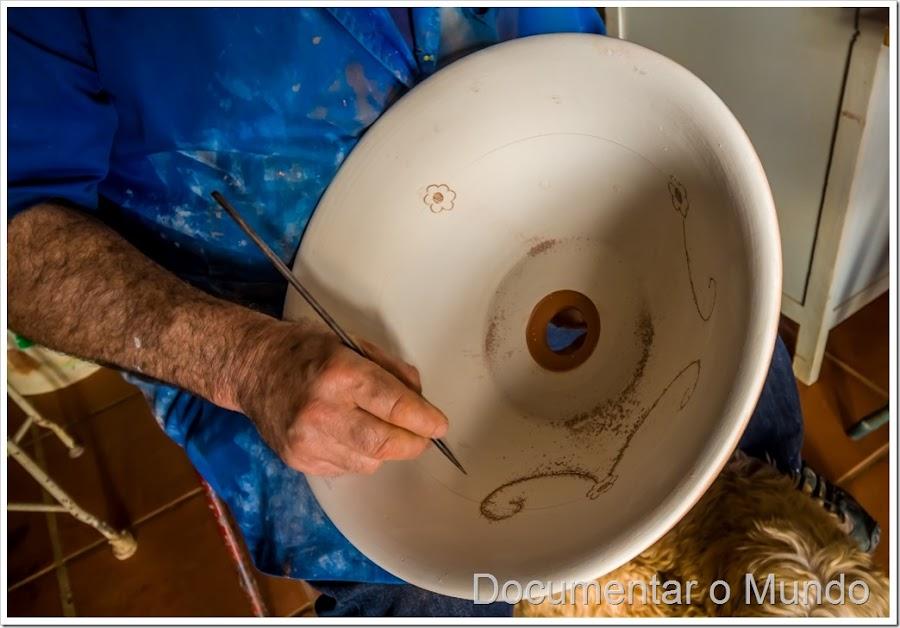 Francisco Rosado, Xico Tarefa, oleiro Redondo, louça tradicional do Redondo