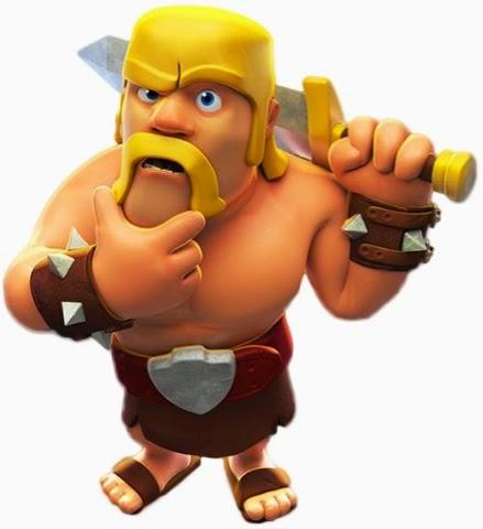 Mengenal Barbarian Pada Game Clash Of Clans Blog Aspal