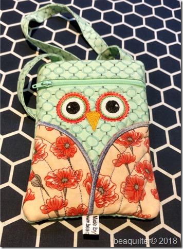 zippered bag ITH