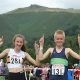 Grasmere U14 & U17 Fell races