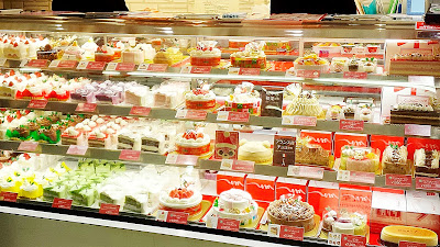 Christmas Cake and more in Japan