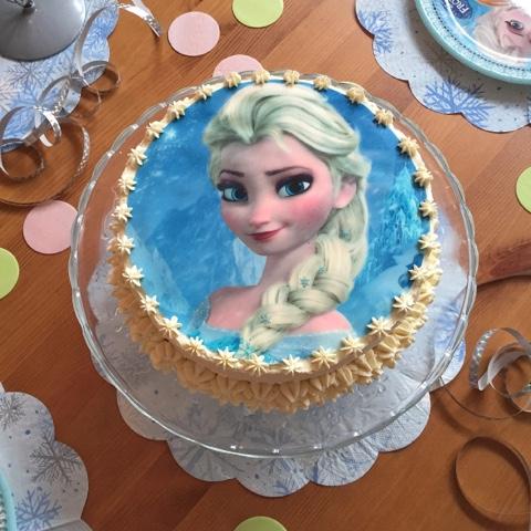 Olles Himmelsglitzerdings Elsa Tortchen Die 2 Eiskonigin Torte