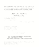 Ham, Aartje van der Overlijdenskaart 18-10-1978.jpg