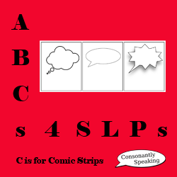 ABCs 4 SLPs: C is for Comic Strips image