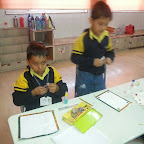 Card Making Activity (Grade-I) 19-12-2014