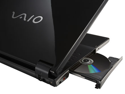 sony viao ar18gp blue ray disc writer