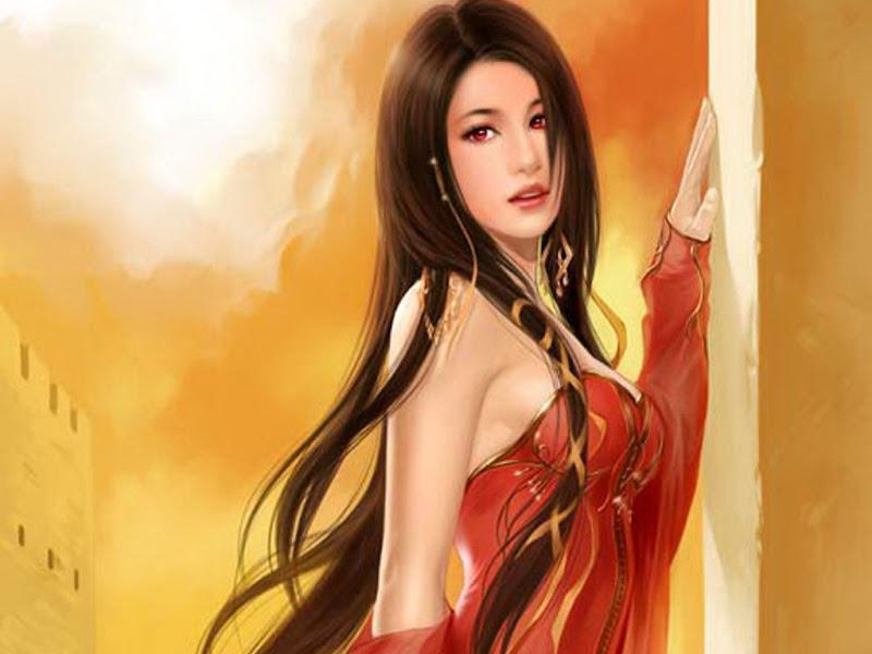 Girl Pretty Light Of Soul, Fairies 1