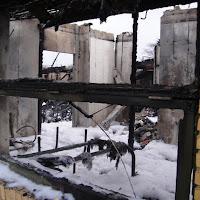 Brændte klubhus