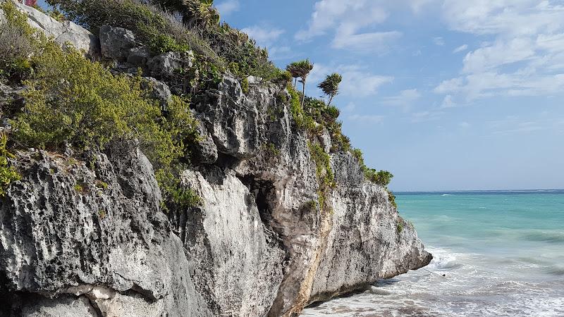 Ruines de Tulum, Cancún, Mexique, site archeologique, elisaorigami, travel, blogger, voyages, lifestyle, Riviera Maya, Yucatan, Bahia Principe