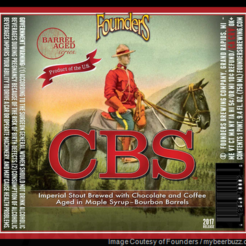 Founders CBS Becomes The Final Barrel-Aged Series Beer For 2017