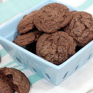 Double Chocolate Brownie Cookies.