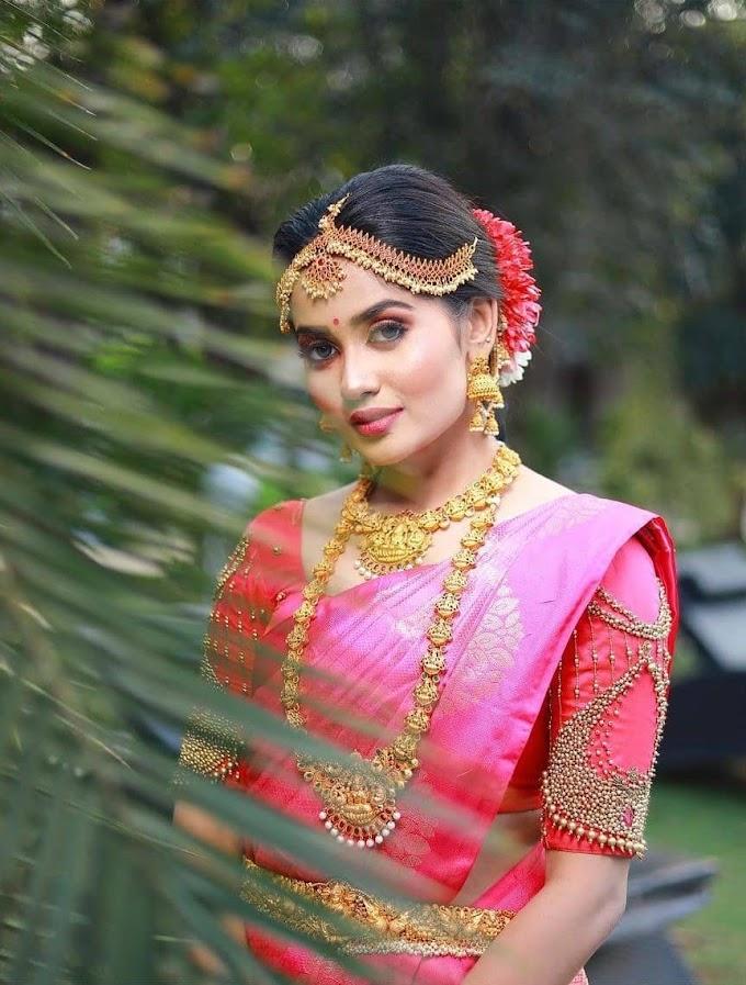 Teju Ashwini Latest Saree Photoshoot Collections