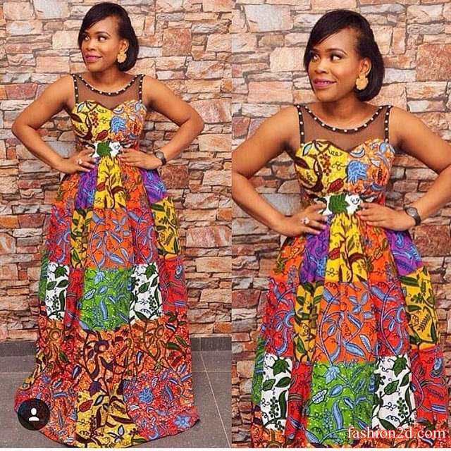 How To Wear Kitenge African Dresses Fashion Fashion 2d