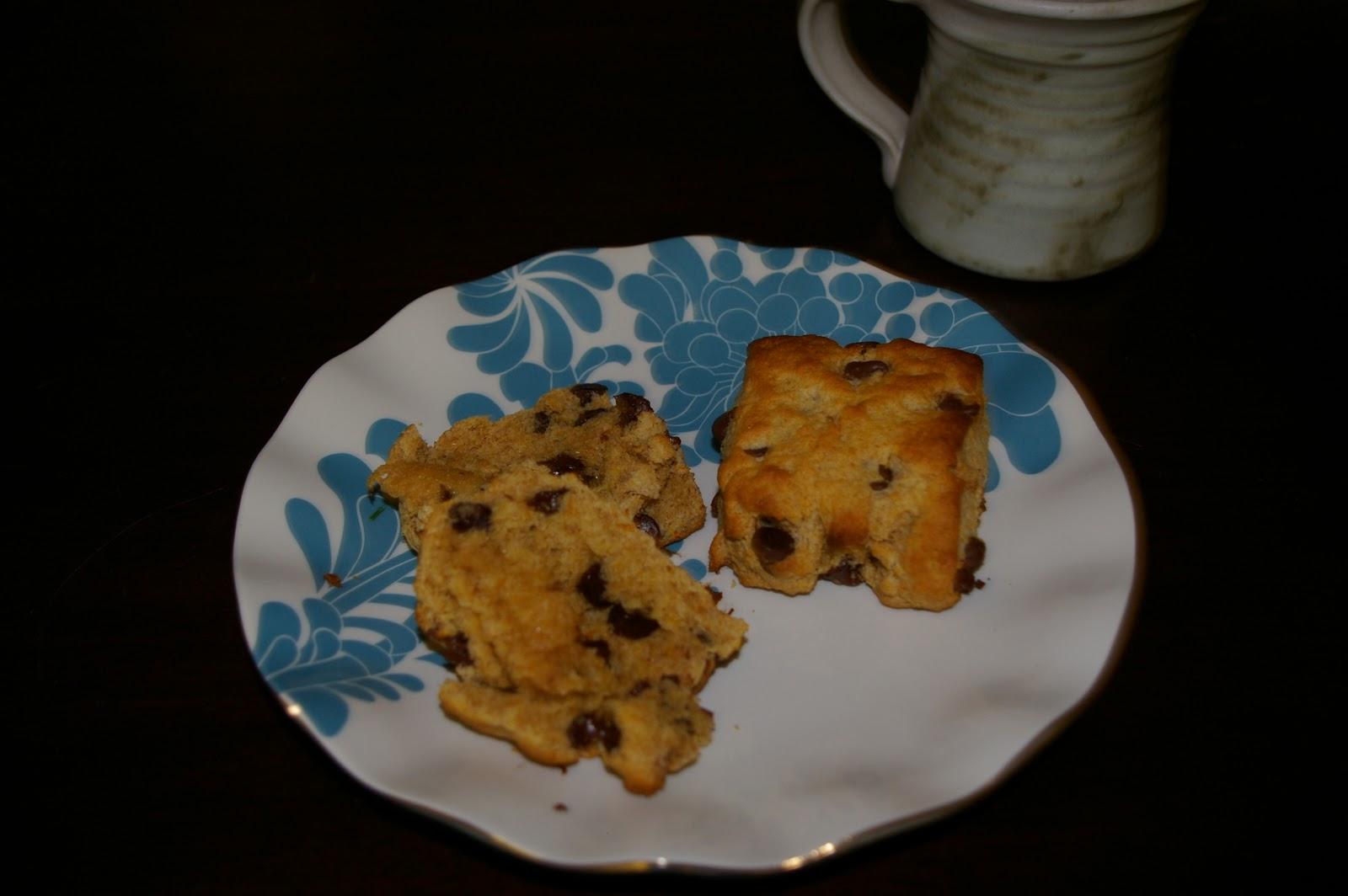 Snacks and Desserts: Orange and Dark Chocolate Buttermilk Scones