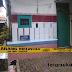 Penghuni Kontrakan Tewas, Police Line Melintang Dilokasi Rumah Kontrakan Kadudampit Sukabumi