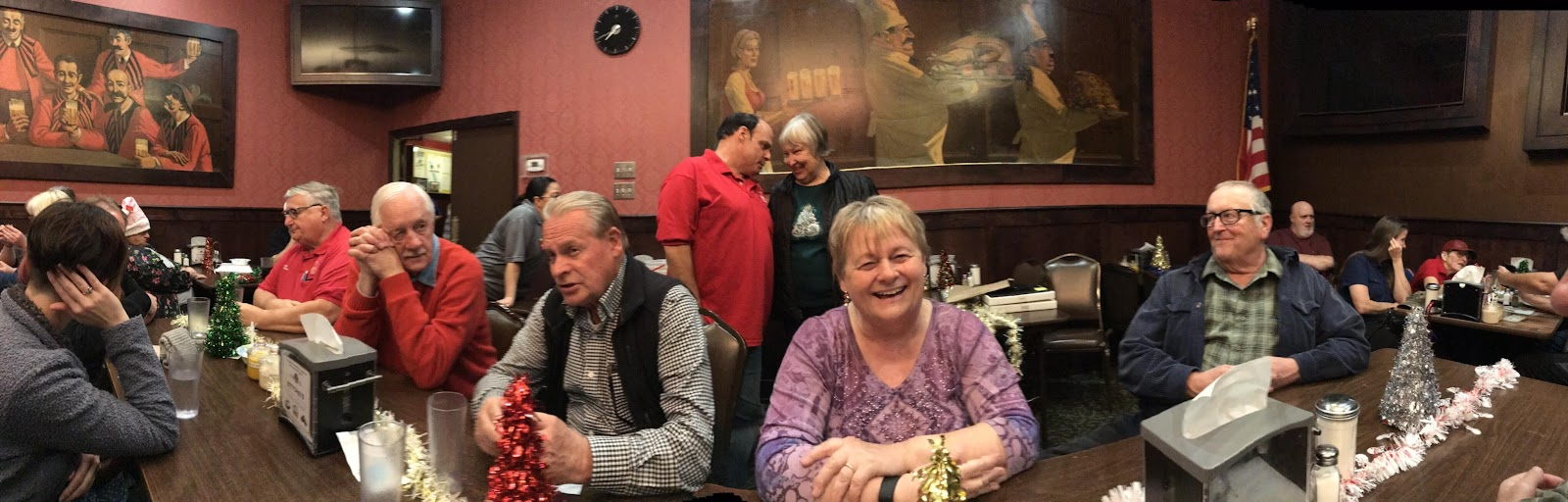2018 RCARCS Holiday Dinner Photos by Sylvia Stork, KS6WTF