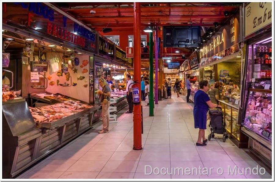Mercados de Madrid, mercados gastronómicos de Madrid, mercado de La Paz