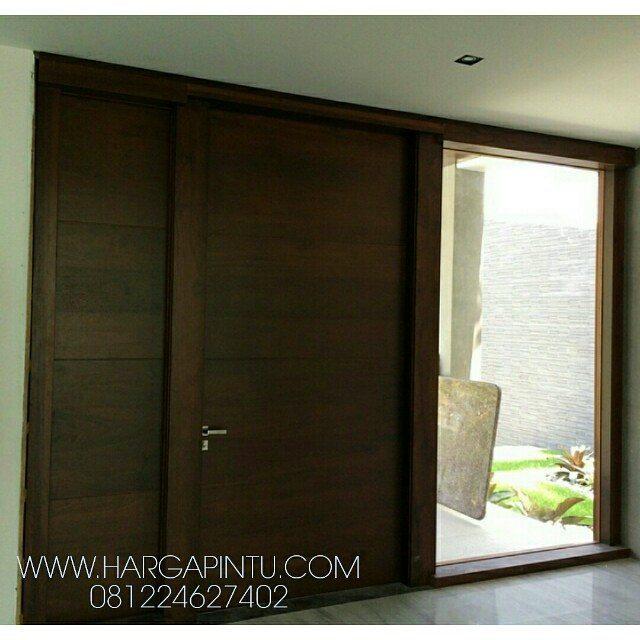 contoh pintu geser mewah