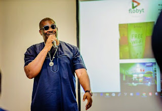 flobyt wifi by Don Jazzy and Tsaboin traffic CEO Dele Odufuye