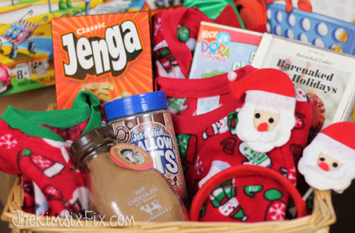 Christmas eve gift basket ideas