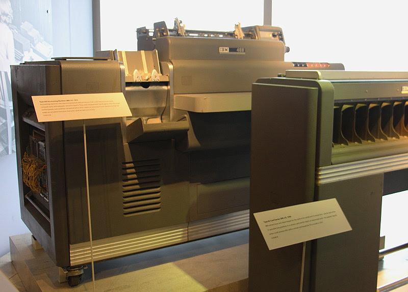 1950 S Tax Preparation Plugboard Programming With An IBM