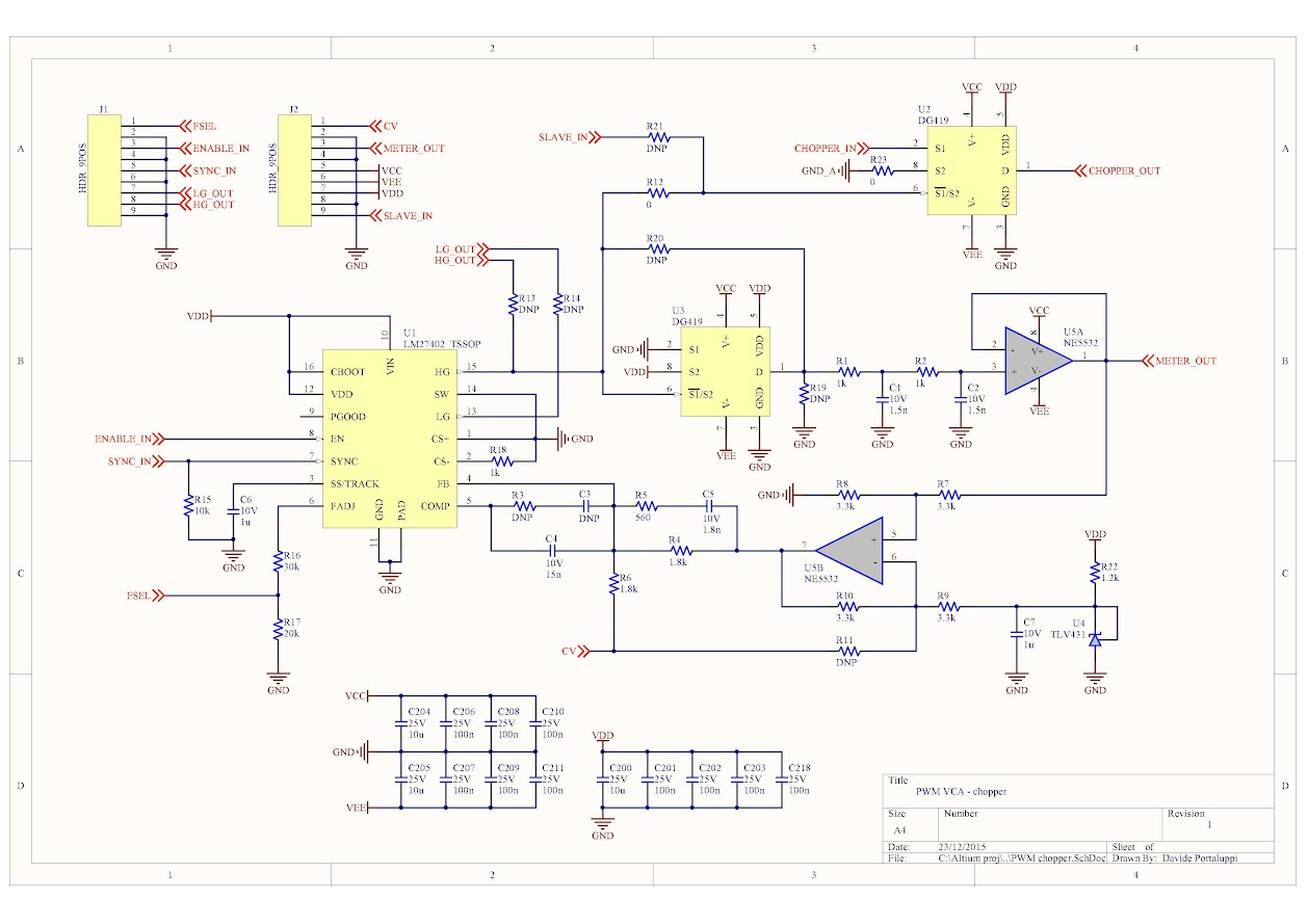 Pwm Schematic Wiring Library An Electric Toothbrush Speed Control Of A Dc Motor Electroboom The Chopper Is Built Around Lm27402 Controller And Two Dg419 Cmos Switches
