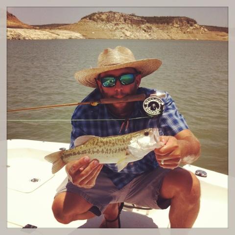 Pat Kellner, Texas Freshwater Fly Fishing, TFFF, Fly Fishing Texas, Texas Fly Fishing, Fly Fishing Lake Amistad, Largemouth Bass Fly Fishing