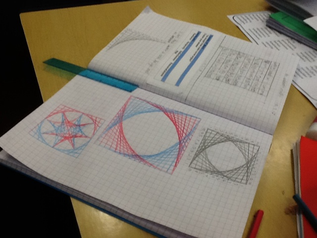 How To Make Straight Line Art : Class st helen s can straight lines make curved angles
