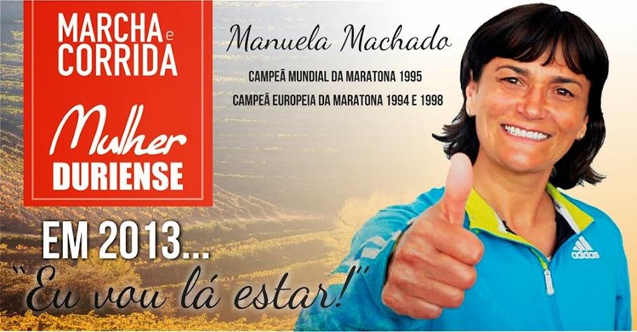 Manuela Machado corre em Lamego para fins solidários